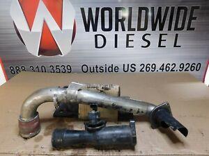 Detroit DD15 Air Mixer Recirculation Tube. P/N: A4711402908. Stock # PT 4654