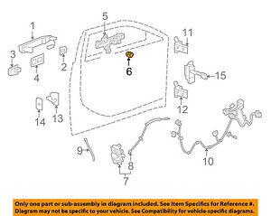GM OEM Front Door-Lock Cylinder 20766969