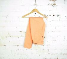 Women's Levis W32 L32 Straight Skinny Look Legging 535 Jeans bright Orange