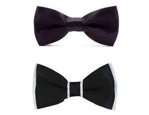 SUIT LAB - Baby Boys Black Bow Tie | Formal Tuxedo | Page Boy Wedding