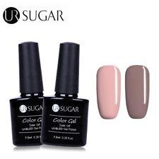2 Bottles/set UV/LED Gel Nail Polish Soak Off Gel Varnish  Coffee UR Sugar