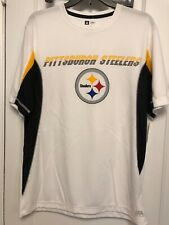 Pittsburgh Steelers Nfl Team Apparel Short Sleeve T Shirt Men'S Large Nwts