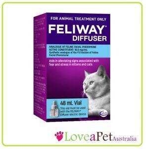 Feliway 48mL Refill - Pheremone for Cat Anxiety - Genuine