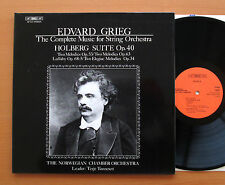 BIS LP-147 Grieg Complete Music For String Orchestra Terje Tonnesen 1980 NM/EX