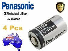 Genuine 4x Panasonic 3V CR2 Lithium Battery CR15H270 CR15270 15270 15266 DLCR2