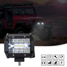 200W 4inch 72W Cree Led Work Light Bar Pods Flush Mount Combo Driving Fog Lamp