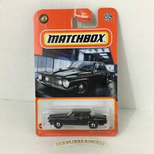 2021 matchbox S case #12 1962 Plymouth Savoy black new!!!