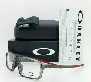 NEW Oakley Chamber RX Eyeglasses Frame Polished Grey Smoke OX8138-0355 AUTHENTIC