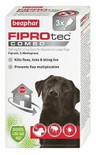 Beaphar FIPROtec COMBO Flea & Tick Spot On For large dogs 3 treatment