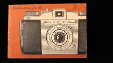 Vintage Kodak Pony 135 Model C Camera Instruction Book