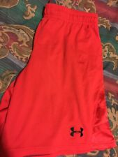 Mens Under Armour Red Shorts Size 2XL