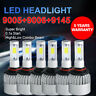 9005 9006 9145 LED Headlight Bulbs For Chevy 03-2007 Silverado 02-2005 Avalanche