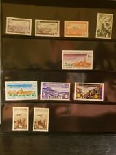 Algeria Airmail Stamps Lot of 10 - MNH - see details for list