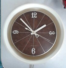 General Electric Model 2168 Bridgeport CT Mid Century Modern Wall Clock