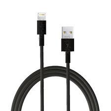 Chargeur pour iPhone x 8 7 6 6s Plus 5c 5s SE Cable Data iPod iPad Pro Mini air Noir