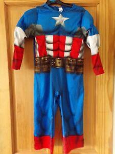 Captain America MARVEL AVENGERS play suit. dressing up. Fancy dress. World Book