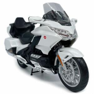 1/12 2020 Honda Gold Wing Tour Motorcycle Model Diecast Bike Toy Boy Gift White