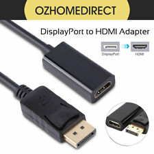 DP Male to HDMI Female Adapter Converter Cable Line 25cm Display Port Computer