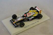 Spark S1670 -  LOTUS 109 n° 12 1994 Johnny Herbert 1/43
