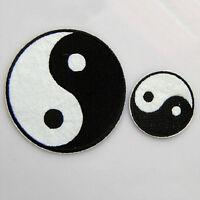 Feng Shui Chino Ying Yin Yang Tai Chi Hierro Apliques Bordados Parche *ws
