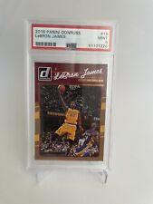 2016-17 Panini Donruss - Lebron James #15 PSA 9 - With Kobe Bryant