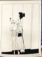 Fucci Print Limited Edition from 2020 12x16 AP Artist Proof Signed Girl Elevsto