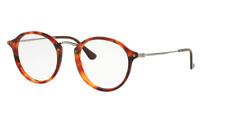 Ray Ban RX2447V 5831 Havana Eyeglasses Optical Frame RX RB2447-V 49-21