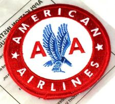 13114 AMERICAN AIRLINES RETRO IRON ON CLOTH PATCH APPLIQUE SEWING