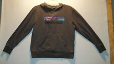 Youth Boys Patagonia Kids Lightweight Graphic Hoodie Sweatshirt size XL apprx 12
