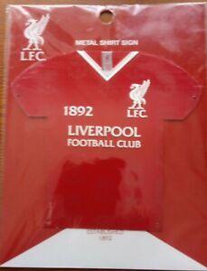 Official Liverpool FC Metal 3D Shirt Sign (1892 L.F.C.) - FREE POST!