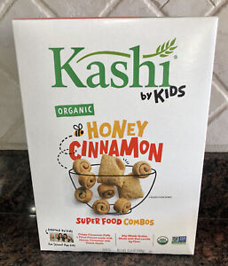 Kashi By Kids Organic Honey Cinnamon Super Food Combo Cereal 10.8 Oz