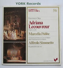 GML 56 - CILEA - Adriana Lecouvreur highlights POBBLE / SIMONETTO - Ex LP Record