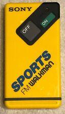 1985 Sony Sports FM Walkman SRF-4 FM Stereo Radio Receiver, Works