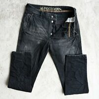 Mens TOMMY HILFIGER Premium Jeans Size W31 L34 Regular Fit Tapered leg Ash Grey