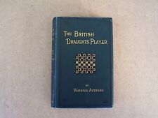 antique book - The British Draughts Player , F. Warne & Co., 3rd edition ca 1883