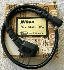Nikon Coiled Synch Cord SC-7 for F2 Speedlight Flash