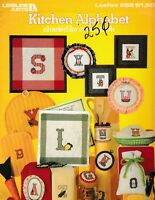 Kitchen Alphabet Charted for Cross Stitch | Leisure Arts 252