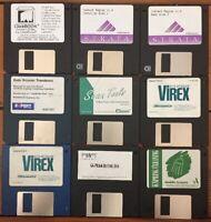 Mixed Lot Vtg Mac 1990s Macintosh Scanning Tools Software Install Floppy Disks