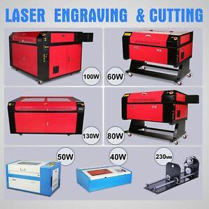 CO2 Laser à Graver Machine Axe Routeur CNC Router 40W-130W Certification CE