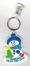 """""""Share his light and love""""Jesus based Christmas white rubber keychain! 4 Holiday"""