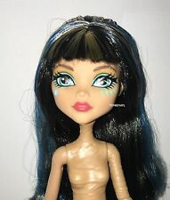 Welcome Monster High Dance the Fright Away Cleo de Nile Nude Doll NEW for OOAK