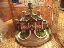 American Collection Maurice Wideman - Town Hall Ac-020 Sculpture Artist Signed