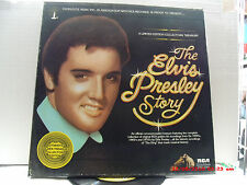 THE ELVIS PRESLEY STORY-(5-LP'S)-CANDLELITE MUSIC INC. IN ASSCOIATION W/RCA-1977