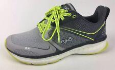 Ryka Nite Run Sneaker - Women's Size 7.5M Gray/Yellow