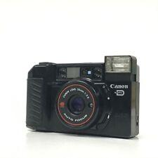 Canon Autoboy 2 Quartz Date QD Black Point & Shoot 35mm Film Camera GOOD TK06C