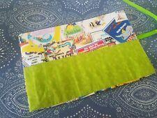 Handmade Crayon Roll Holds 10 Crayons Kids Disney Inspired