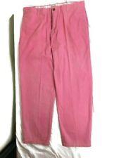 Ami Sanzuri Mens Long Pants Raspberry Color, Waist 38 Length 32