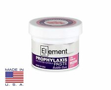 ELEMENT MEDIUM GRIT BUBBLE GUM PROPHY PASTE DENTAL PROPHYLAXIS 100g (3.5 oz) Jar