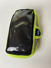 "Tune belt Running Armband 6"" X 3"" Green Black Reflective Phone Holder NWOT"
