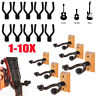 1-10PACK Guitar Hanger Hook Holder Wall Mount Display Bass Banjo Violin Mandolin
